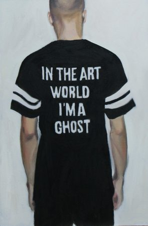 In the art world, I'm a ghost